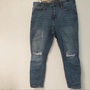 High Rise Skinny Crop Jean